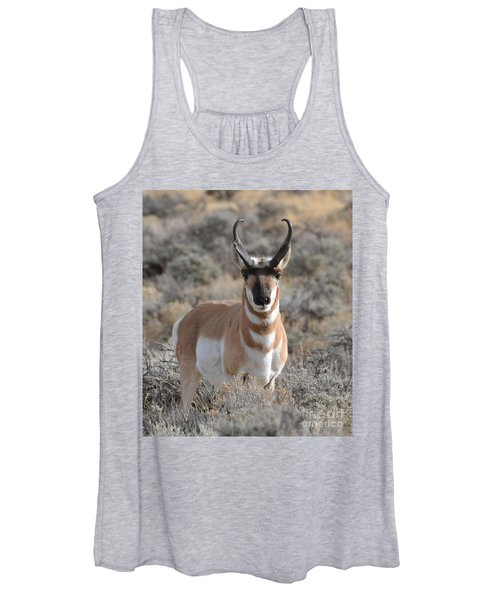 ...and The Antelope Play Women's Tank Top