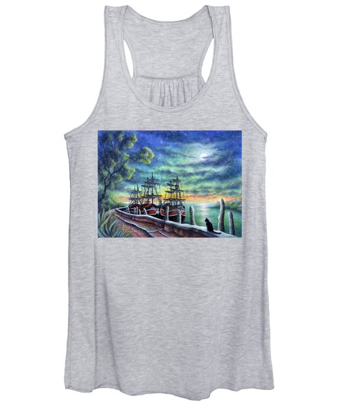 And We Shall Sail My Love And I Women's Tank Top