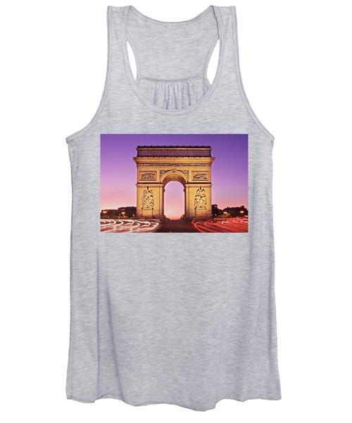 Arc De Triomphe Facade / Paris Women's Tank Top
