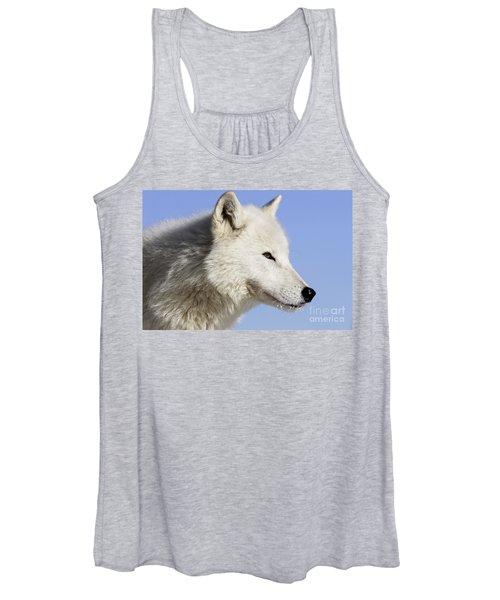 Arctic Wolf, Canis Lupus Arctos Women's Tank Top