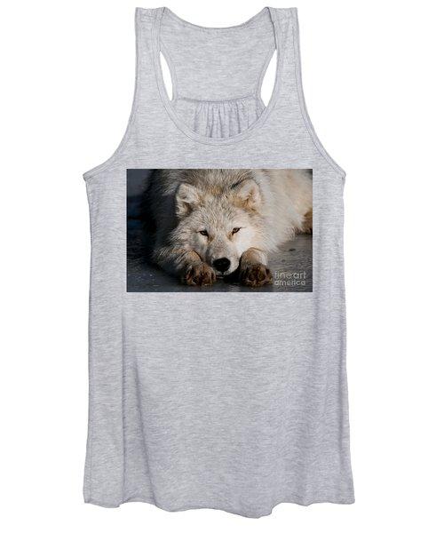 Arctic Wolf Pictures 752 Women's Tank Top