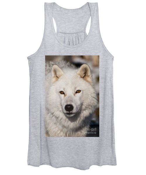 Arctic Wolf Pictures 814 Women's Tank Top