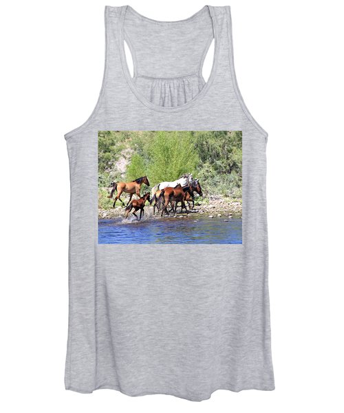 Arizona Wild Horse Family Women's Tank Top