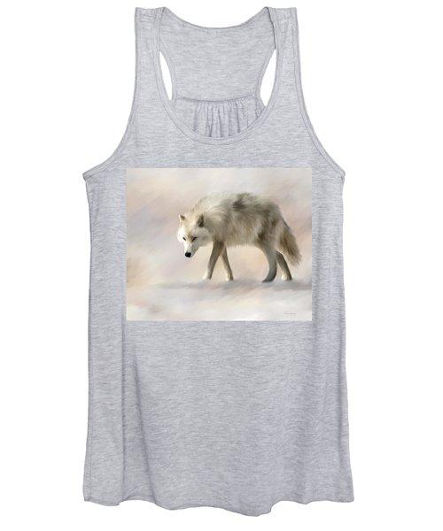 Arctic Wolf Women's Tank Top