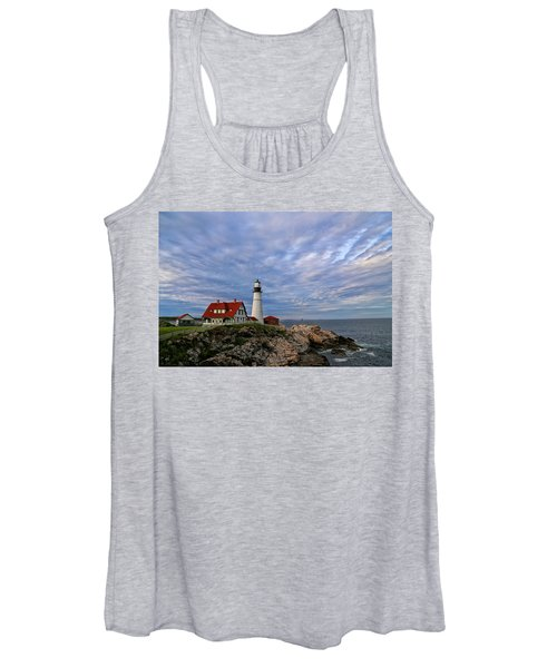 As The Sky Reaches The Water Women's Tank Top