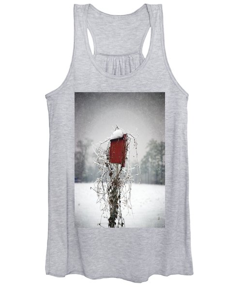 At Home In The Snow Women's Tank Top