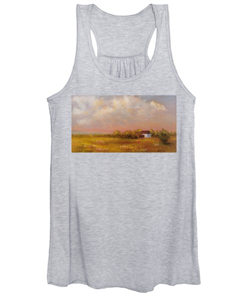 August Afternoon Pa Women's Tank Top