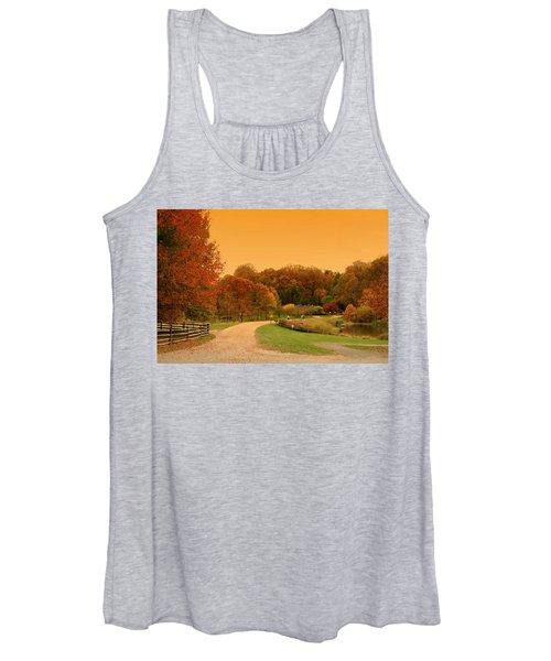 Autumn In The Park - Holmdel Park Women's Tank Top
