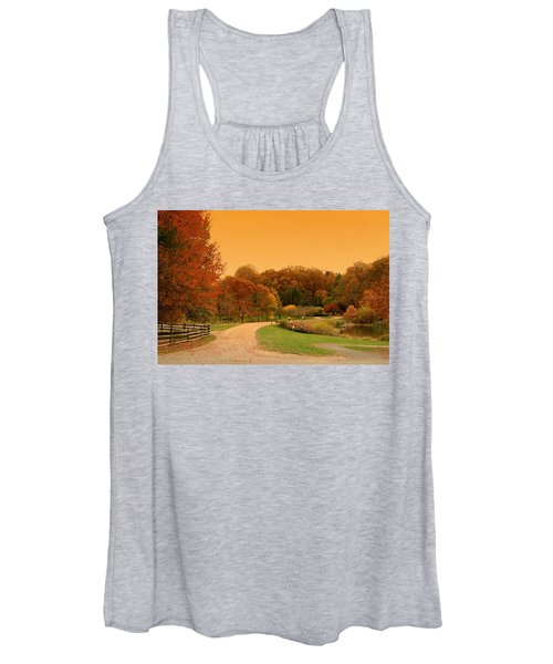 Autumn In The Park - Holmdel Park Women's Tank Top