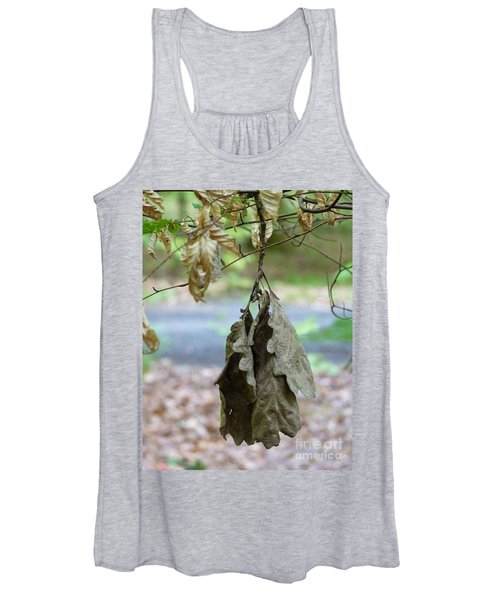 Autumn Leaves In Summer Women's Tank Top