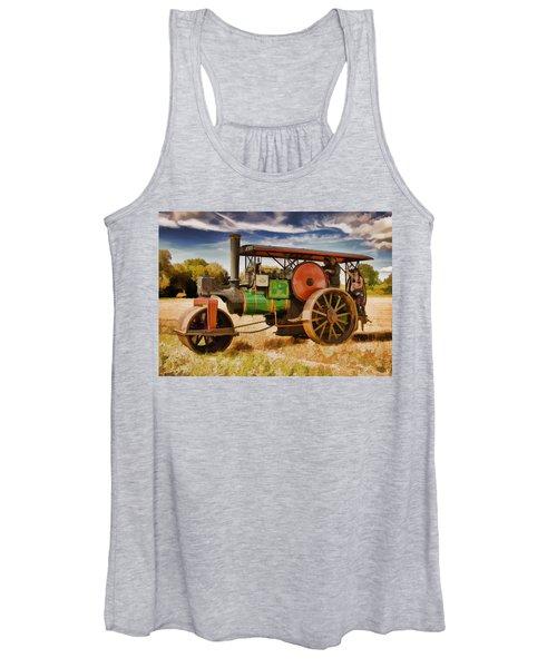 Aveling Porter Road Roller Women's Tank Top