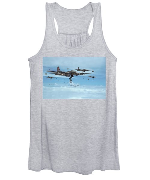 B17 - Mighty 8th Arrives Women's Tank Top