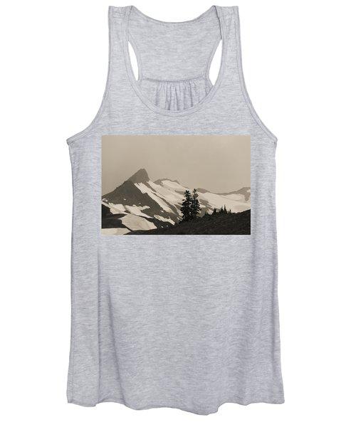 Fog In Mountains Women's Tank Top