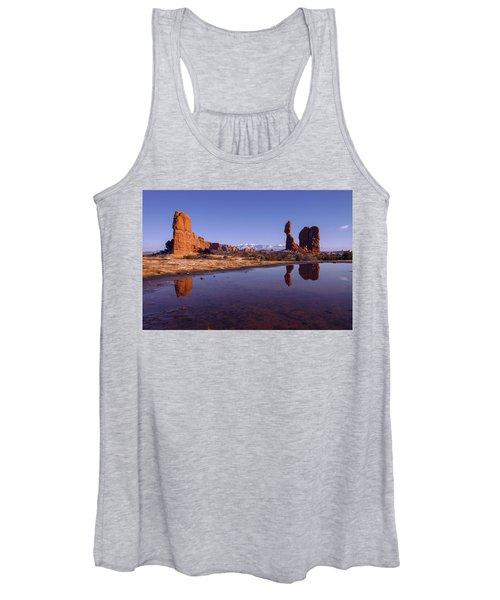 Balanced Reflection Women's Tank Top