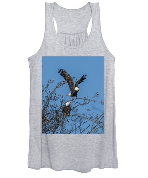 Bald Eagles Screaming Drb169 Women's Tank Top
