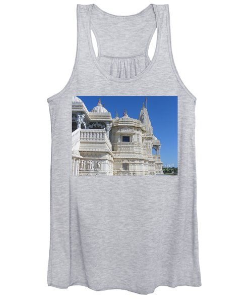 Baps Marble Mandir In Toronto Women's Tank Top
