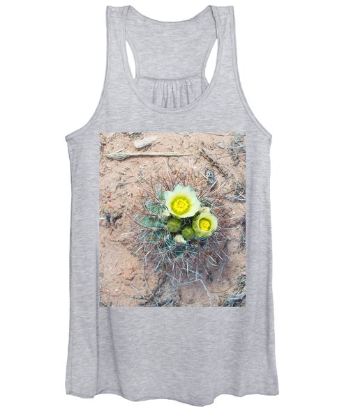 Barrel Cactus Blossoms Women's Tank Top