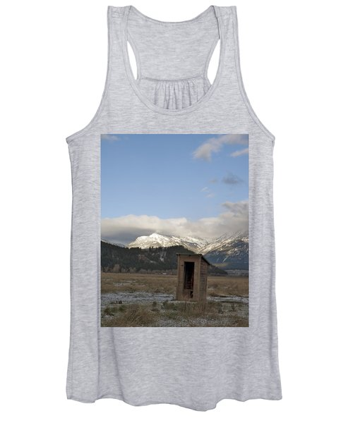 Bathroom With A View Women's Tank Top