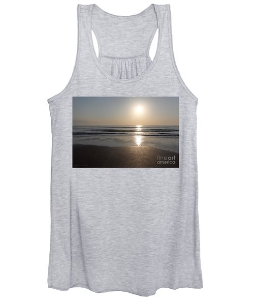 Beach At Sunrise Women's Tank Top