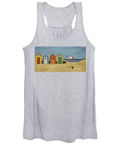 Beach Huts Women's Tank Top