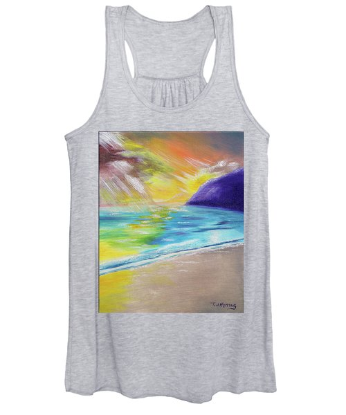 Beach Reflection Women's Tank Top