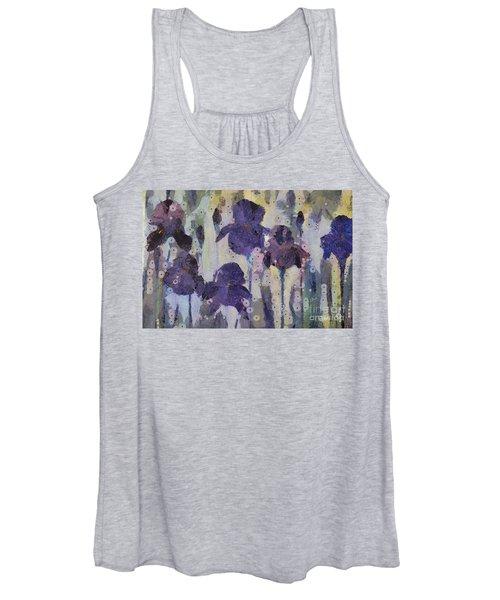 Bearded Irises Women's Tank Top