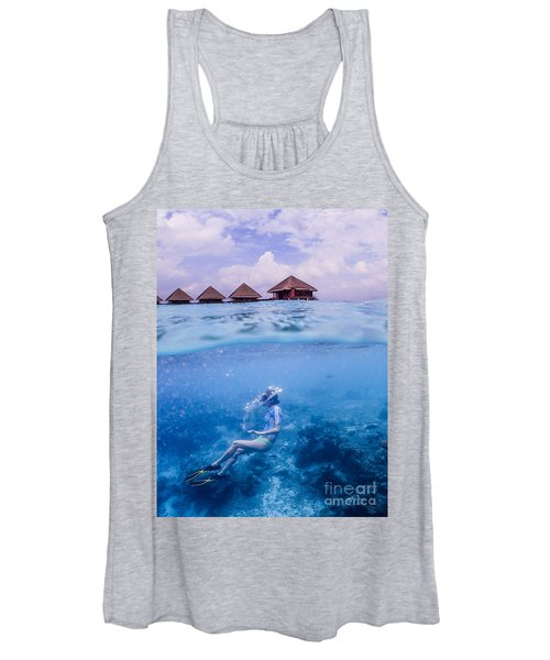 Beautiful Above And Below 2 Women's Tank Top