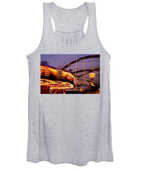 Did I Dream It Belmont Park Rollercoaster Women's Tank Top