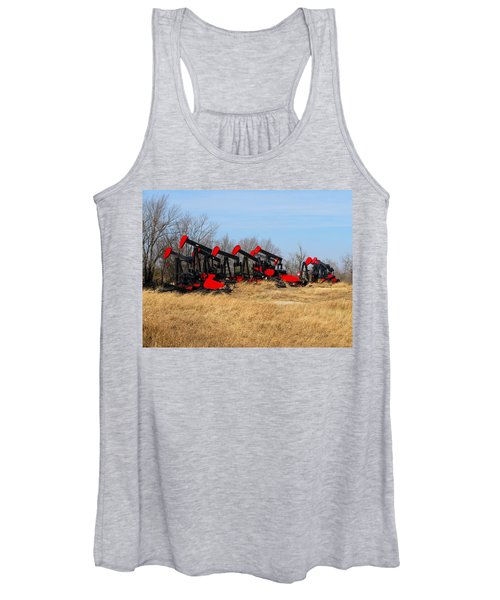 Bethlehem Pump Jacks Women's Tank Top