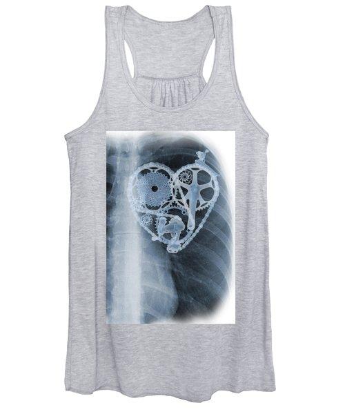 bike lover X-ray Women's Tank Top