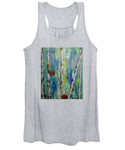 Birch - Lt. Green 4 Women's Tank Top
