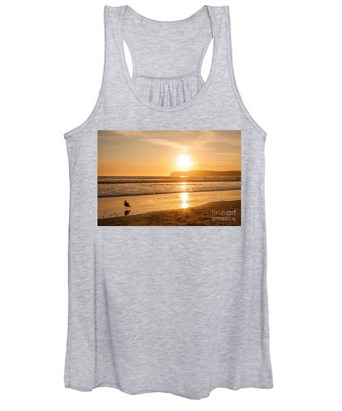 Bird And His Sunset Women's Tank Top
