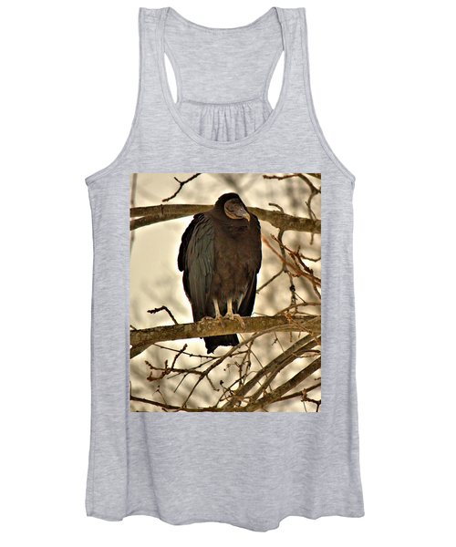 Black Vulture 1 Women's Tank Top