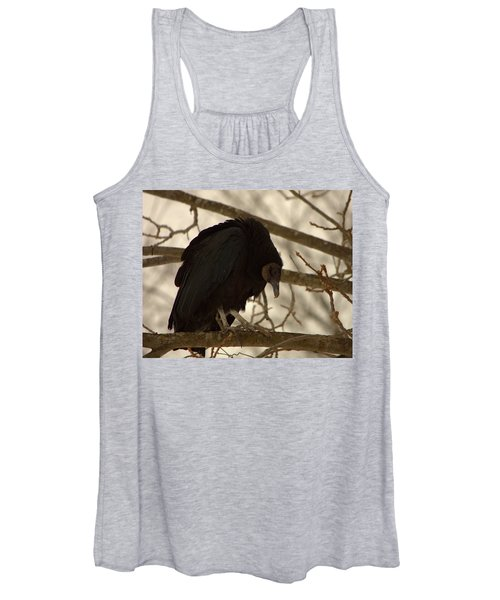 Black Vulture 4 Women's Tank Top