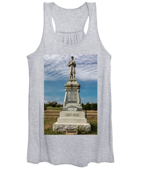 Bloody Cedars Civil War Memorial Women's Tank Top