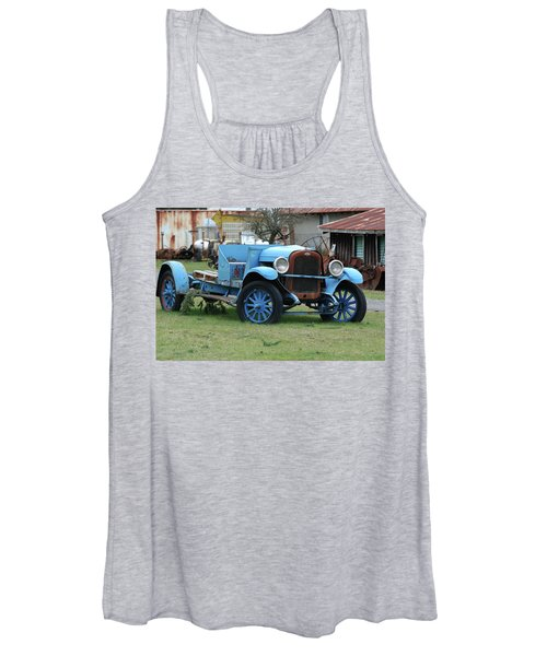 Blue Chevy  Women's Tank Top