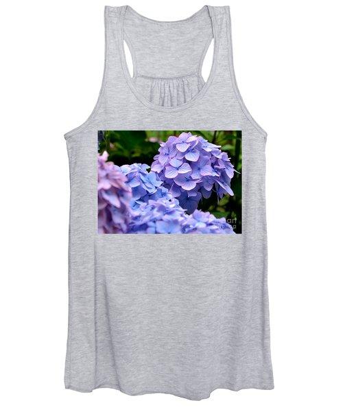 Blue Hydrangea Women's Tank Top
