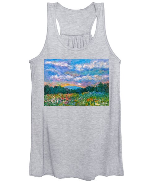 Blue Ridge Wildflowers Women's Tank Top