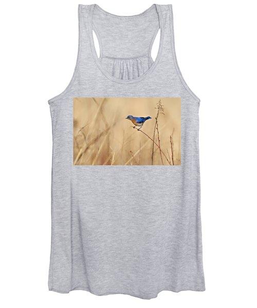 Bluebird Meadow Women's Tank Top