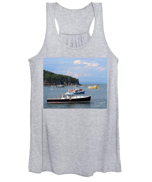 Boats In Bar Harbor Women's Tank Top