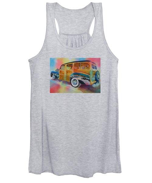 Boca Classic 42 Woody Women's Tank Top