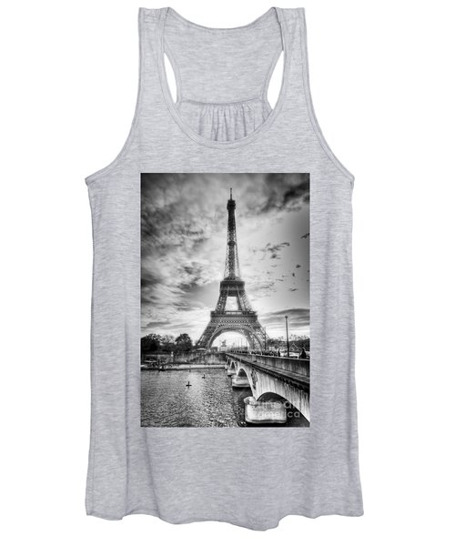 Bridge To The Eiffel Tower Women's Tank Top