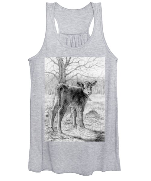 Bright Eyed And Bushy Tailed Women's Tank Top