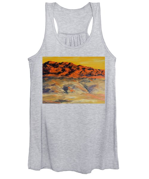 Brilliant Montana Mountains And Foothills Women's Tank Top