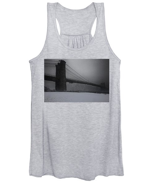 Brooklyn Bridge Blizzard Women's Tank Top