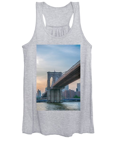 Brooklyn Bridge Sunset Women's Tank Top