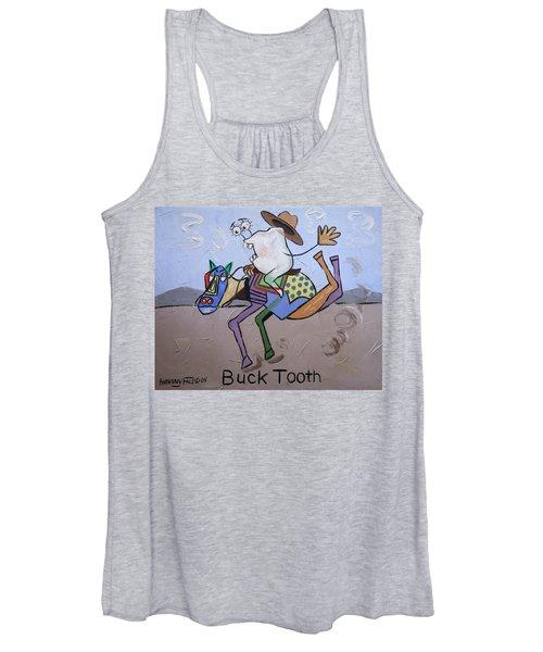 Buck Tooth Women's Tank Top