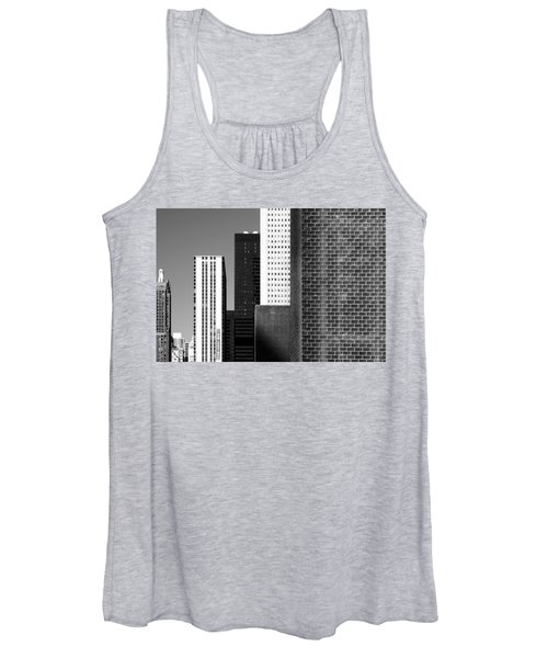 Building Blocks Black White Women's Tank Top