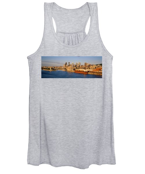 Buildings At The Waterfront, Montreal Women's Tank Top