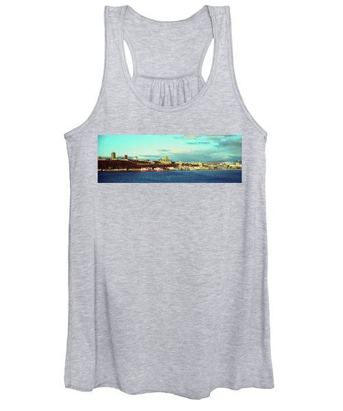 Buildings At The Waterfront, Quebec Women's Tank Top